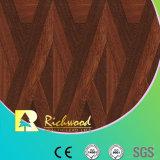 Ménage Woodgrain 8.3mm la texture de sol stratifié résistant à l'eau en teck