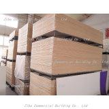 El PVC forma la tarjeta de la espuma de la corteza del PVC del material de construcción del negro 6m m 8m m de la hoja