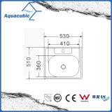 Countertop Gootsteen van het Roestvrij staal van de Keuken de Vierkante (ACS5355)