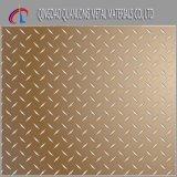 Checkered выбитая плита нержавеющей стали 201 202