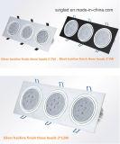 一定した現在の運転ICおよび炎-抑制剤が付いている高品質3With5With6With7With9With10With12With14With15With18With21With24With27With36W LEDのスポットライト