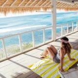 La impresión de la banda de la playa de microfibra Deportes Toalla de baño de viajes