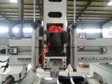 hölzerne Mittellinien-Kugel-Schrauben-Übertragungs-mechanische Wasserkühlung-Spindel der Aluminium 3D CNC-Fräser-Gravierfräsmaschine-3