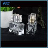Розничная кристаллический пустая прямоугольная бутылка дух 30ml
