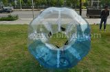 ¡Deporte loco! ¡! ¡! Media bola clasificada humana inflable de la burbuja del fútbol del color TPU de la venta caliente, bola Loopy