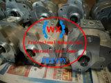 Japón hizo Komatu cargadora de ruedas (WA100. WA120. WA180. WA150) La transmisión de la bomba hidráulica 705-73-30010 piezas de repuesto para la venta
