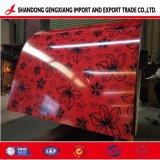 Bauhinia/Redbud/strato rivestito dell'acciaio PPGI disegno cinese di Redbud