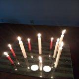 بالجملة منزل [35غ] بيضاء عمود شمعة