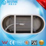 Independiente en el interior de acrílico baratos bañera con Desactivar la palanca (BT-S2590)