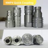 Accoppiamento rapido del connettore del tubo di olio del liquido idraulico di serie Nwp4 (acciaio)