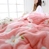 Roi Flannel Bedding Collection de la Reine de l'hiver du Portugal d'escompte le plein