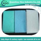 Зеленый гидрофильный воздух Adl через Nonwoven ткань для пеленок младенца