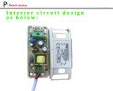 300mA conductor 12V-21V Potencia 7W LED de alimentación, COB 300mA, el conductor del LED para el LED Downlight 7W, 7x1W fuente de alimentación, constante 300mA de corriente de LED, la fuente de alimentación