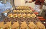 Machine van de Maker van de Wafel van de Vissen van de Fabrikant van de Machine van de Maker Waaffle van Taiyaki de Pan