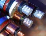 6/10 faisceau XLPE blindé en acier d'Al de câble d'alimentation de 26/30V Yjlv a isolé