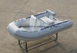 Barco inflável rígido de barco de pesca de Aqualand 11feet 3.3m/motor do reforço (RIB330)