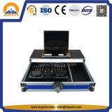 트롤리 알루미늄 음악 믹서 여행 비행 케이스 (HF-5203)