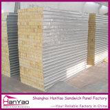 100mm/150mm/200mm 벽을%s 내화성이 있는 강철 바위 모직 샌드위치 위원회
