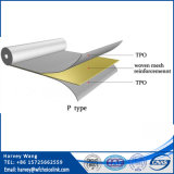 1.2Mm Tpo subterráneas reforzadas de la membrana impermeabilizante