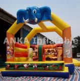 재미를 위한 뛰어오르는 집 팽창식 코끼리 도약자