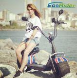 La CEE électrique Coc du l'E-Scooter 1000W 60V de bicyclette de vélo électrique adulte reconnu