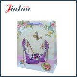 de Madame 4c sacs de cadeau de Shoe Packing Shopping Carrier estampée de papier