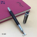 Crayon lecteur à extrémité élevé d'encre d'affaires de crayon lecteur épais de luxe en métal