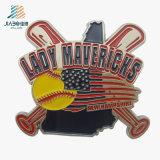 Значок штырей металла логоса клоуна эмали изготовленный на заказ сплава цинка мягкий