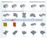 Konkreter Ziegeleimaschine-Selbstproduktionszweig des Kleber-Qt6-15