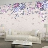 Top Quanlity moderno design 3D Wallpaper China Barato preço papel de parede de PVC de vinil