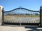Штаты Америки стиле Металлическая передняя Aoto из кованого железа запись поворотного механизма ворота