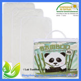 Forros em mudança da almofada do bambu Nonslip grosso impermeáveis