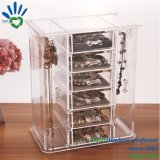 Clear Acrylic Earring Boxing ring Jewelry Jewelry Display Showcase Stand
