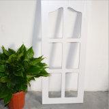 高品質によってカスタマイズされるPVC MDFのガラス食器棚のドア