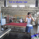 2-6mm Float Silver Mirror Glass con Silk Screen
