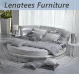 Cy002円形の整形贅沢な円形のベッド