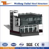 Alta calidad de materiales de construcción prefabricados de estructura de acero de la construcción de viviendas