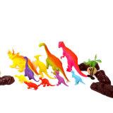 Kleine pädagogische tierische vorbildliche Plastikdinosaurier-Spielwaren