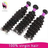 100% de cabelo humano Virgem Grau de cabelo humano indiano 7A Trama