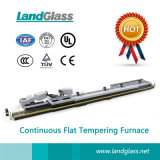 Força Landglass plana contínua convecção Planta do Forno de Vidro Temperado