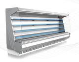 Cortina de aire Multi-Cubierta de visualización vertical del escaparate del refrigerador