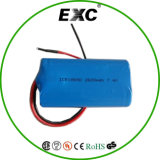 18650 3.7V Power Bank 2600 Milliamperestunde mit PWB Rechargeable Lithium-Ion Battery