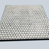 Ceramic Composite de goma resistente a la abrasión de la placa de revestimiento de desgaste