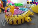 Barco de parachoques Kiddy tortugas de agua, Juego, juego de Piscina