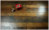 12.3mm Hand geriebener Walnuss-V-Grooved lamellierter Fußboden