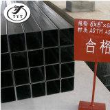 I tubi del quadrato nero del materiale da costruzione/temprano i tubi del quadrato nero