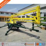 工場ディーゼル機関を搭載するトレーラーによって取付けられるTowableくもブームの上昇かアーム上昇または空の上昇表