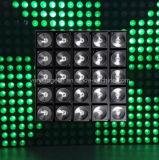 5*5 25head RGB 3 em 1 antolho da matriz da lavagem do diodo emissor de luz