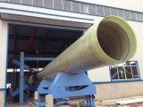 La pipe ronde de FRP GRP pour l'eau transforment