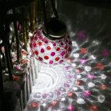 Solarhinterhof, der buntes Blume Widelt verwendetes Househood Licht ändert